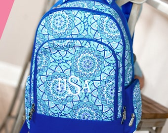 9995ef854a0d SALE Special 2 Piece Set - Monogrammed Day Dream Royal Blue and Mint Day  Dream Backpack   Lunch Box  Back to School