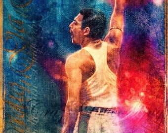 Freddie Mercury - Limited Edition Print 8.5 x 11