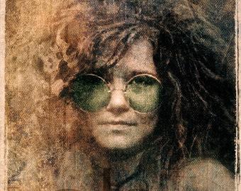 Janis Joplin - Limited Edition Print 8.5 x 11