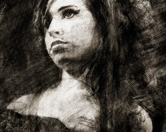 Amy Winehouse - Limited Edition Print 11 x 17