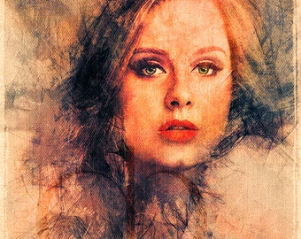 Adele - Limited Edition Print 11 x 17