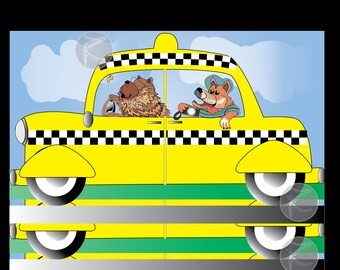 Custom Pet Cartoon Caricature