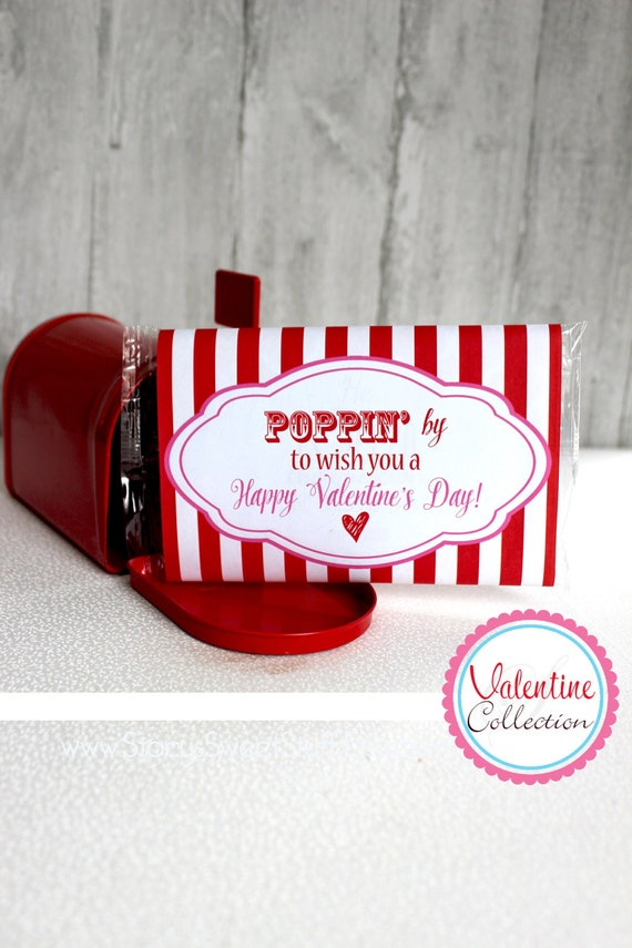 graphic relating to Popcorn Valentine Printable referred to as Popcorn Valentine, Printable Valentine, Valentines Working day, Do-it-yourself