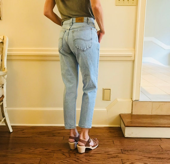 Vintage 1980's LEE jeans, mom jeans, 1980's jeans,