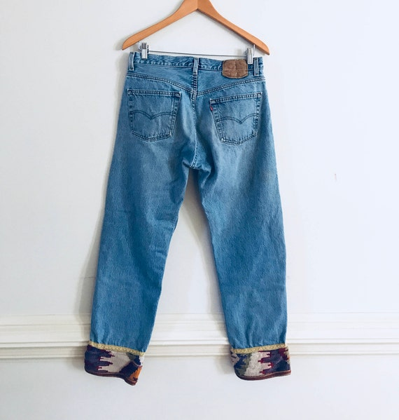 Vintage Levi's 501 jeans, Levi's 501, rare Levi's… - image 1