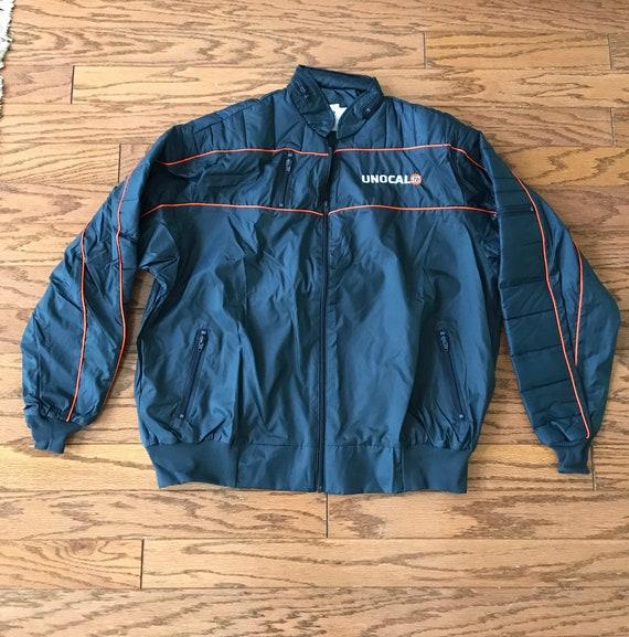 Vintage Nascar racing jacket, vintage Unocal 76 ra
