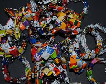 Potato Chip Bag Bracelets