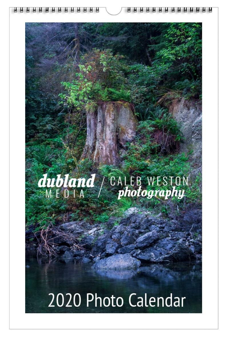 2020 Wall Calendar Landscape Photography image 0