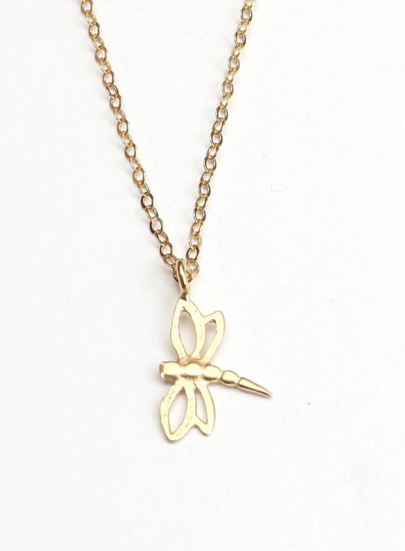 Bridal necklace.GirlfriendsBoyfriends sisters.Bridesmaid gift best friend gift Dragonfly Necklace.Friendship