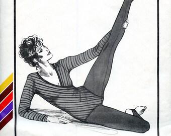 Vintage Stretch & Sew 318 Dance Tights UNCUT Pattern Small Medium Large