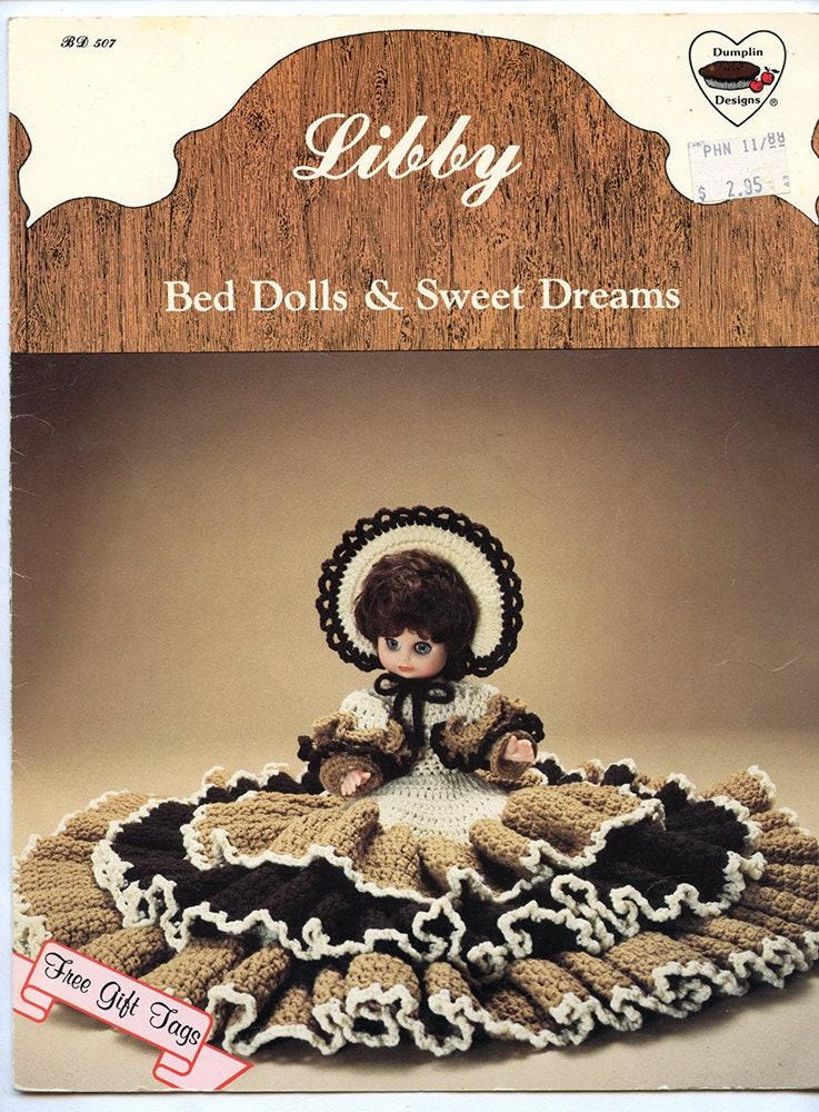 Vintage Libby Sweet Dreams Bed Doll Crochet Pattern Doll Etsy