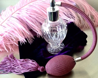 Fancy Perfume Atomizer Purple