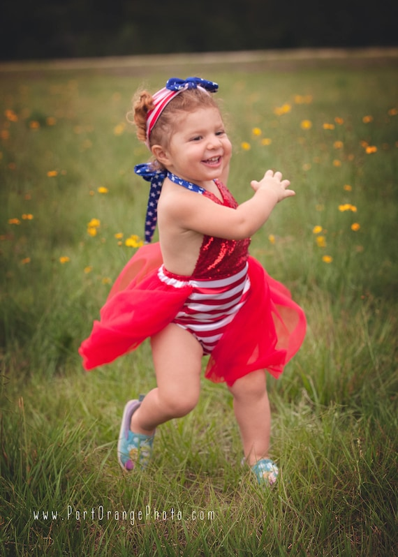 ff6d936b6c93 4th of July Romper-Bubble Romper with Tulle Skirt 1st 4th of
