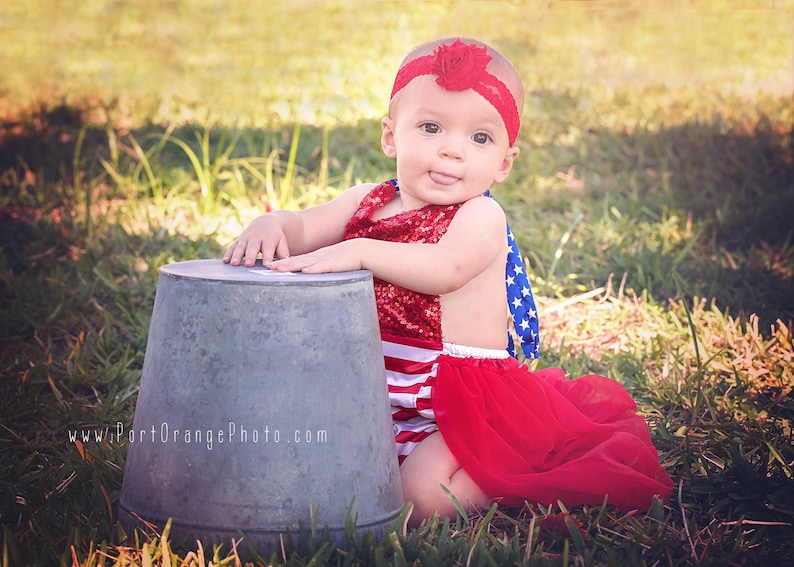 be3996970 4th of July Romper-Bubble Romper with Tulle Skirt 1st 4th of | Etsy