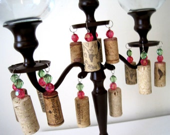 Tuscan Vino Candelabras MADE TO ORDER