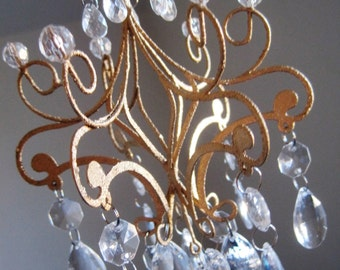 Golden Glam Luxurious Car Chandelier MADE To Order