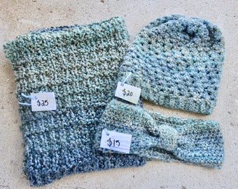Blue Ombre Cold Weather Gear Set