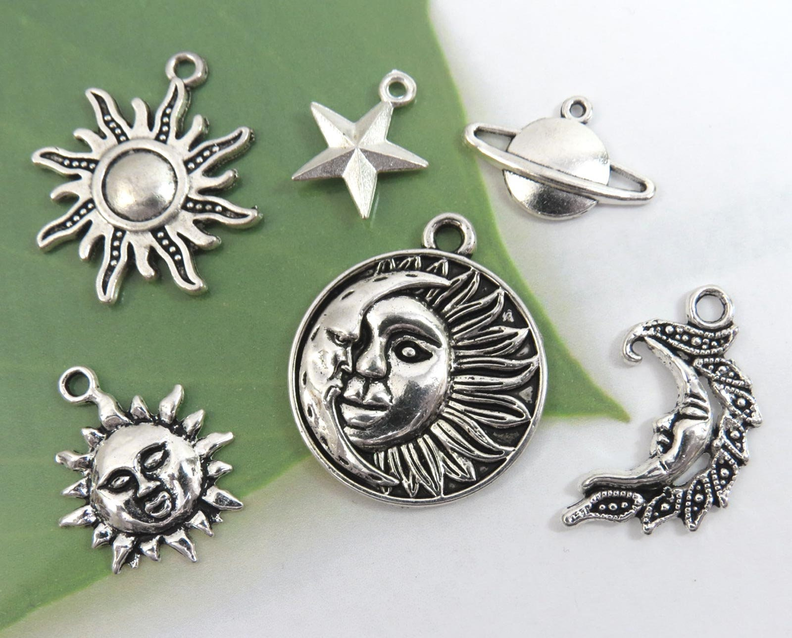 You Rock And Roll Charm//Pendant Tibetan Antique Silver 29mm  4 Charms Accessory