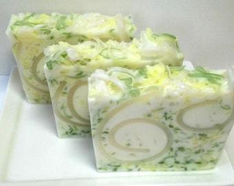 Gardenia Soap, Handmade Soap, Floral Soap, Spring Soap, Summer Soap, Teachers Gift, Vegan Soap. Glycerin Soap, Tropical scented