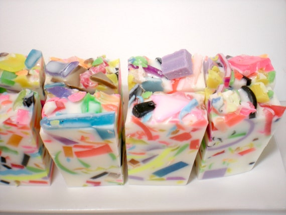 Soap Party Favors Set Of 10 2 Oz Half Bars Jelly Bean Etsy