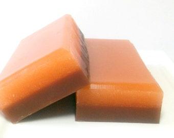 Pumpkin Soap, Sugar Scrub Soap, Bakery scented soap, Exfoliating soap, Pumpkin Souffle Soap, Glycerin Soap, Fall Soap, Thanksgiving Soap