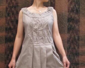 SALE 25 USD--D021--Best time (cute cotton dress)