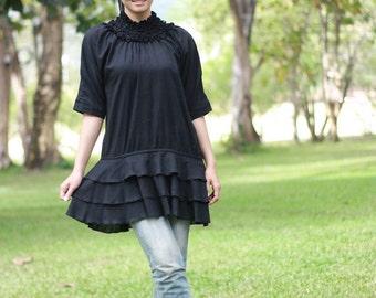 SALE 40% OFF--B017--Cute cotton blouse