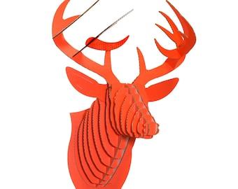 Cardboard Safari Bucky Deer Head
