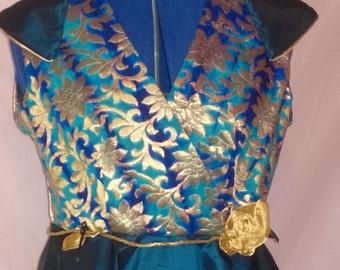 womens dress, long evening dress, wedding dress, cosplay, dress, game of thrones style dress, made to order , satin dress, evening gown,