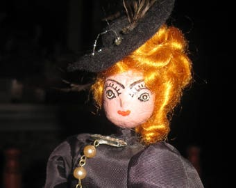 Belle Star Nut Head Artist Doll by Maisy M Coburn