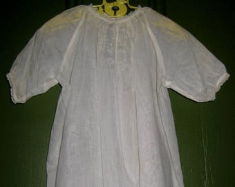 Small Antique Baby Dress, Gown, Christening