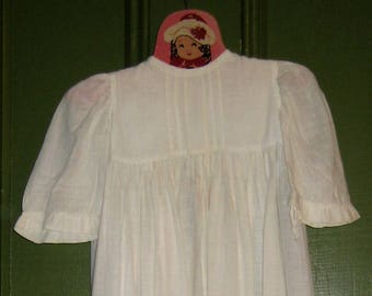 Lovely Long Antique Baby Gown, Christening