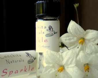 Delight Natural, Aromatherapy Perfume with Grapefruit, Jasmine & Ylang Ylang - 10mL Glass Roll On Bottle - On Sale