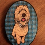 Square or Oval Wooden Pet/People Portraits