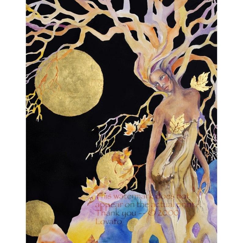 Goddess Painting Tree Woman mother earth tree spirit image 0