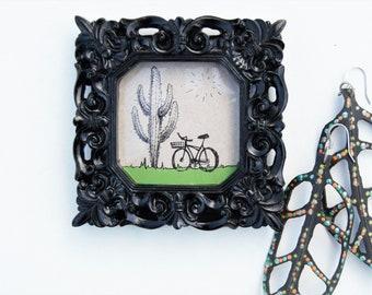 Basket Rides drawing