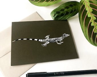 Zebra-striped Lizard