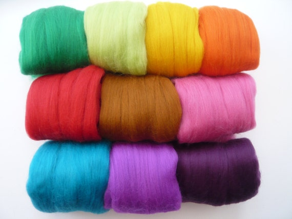 Waste Heidifeathers® Big Bag of Wool Scraps Off Cuts 300g