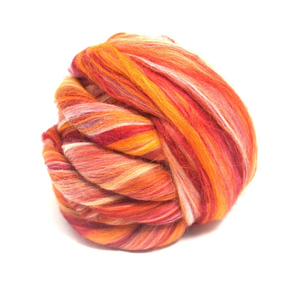 Felting Heidifeathers® Dyed Bamboo Fibres Mix 10 Colors Similar to Silk