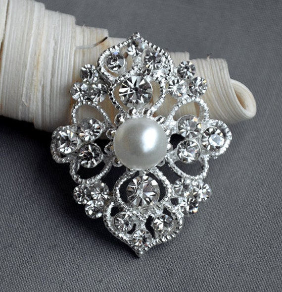 10pcs Pearl Flatback Buttons Embellishment for Brooches Bridal Bouquet