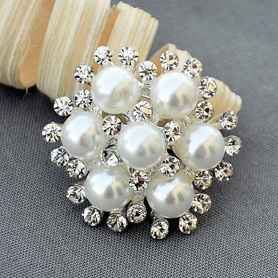 PROUD pearl and rhinestone decorative embellishment mix *Not Edible* ~ Choose Desired Amount