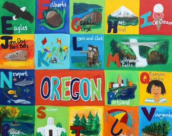 Oregon Alphabet