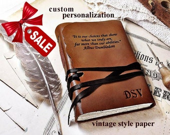 personalized leather journal large personalized journal leather journal diary cover Traveling Writer Handmade Brown Leather Journal