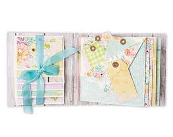 Sizzix Thinlits Waterfall & Tags by Eileen Hull