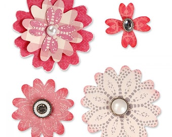 Sizzix Flower With Heart Petals