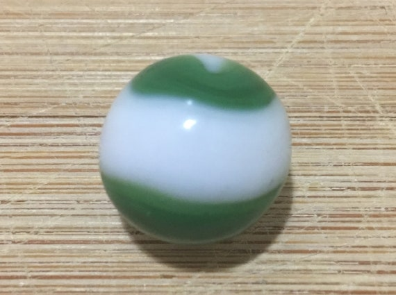 Very Nice Alka Seltzer White Glass Marbles