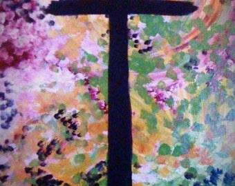 24 x 36 Olivia's cross