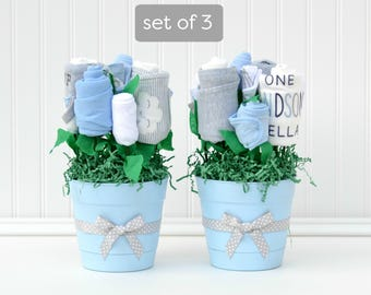 Baby Shower Decorations Boy Unique Baby Shower Centerpieces Etsy