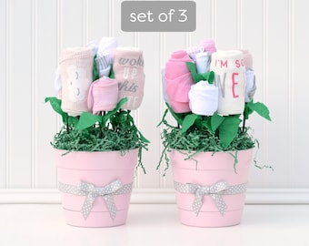 Girl Baby Shower Decorations Unique Baby Clothing Flower Etsy