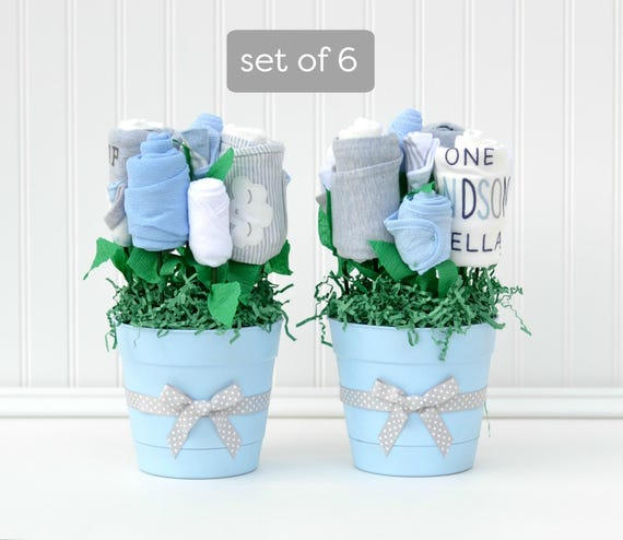 Boy Baby Shower Ideas Baby Boy Shower Centerpieces Unique Etsy